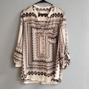 Anthropologie Staring at Stars Button Down Shirt
